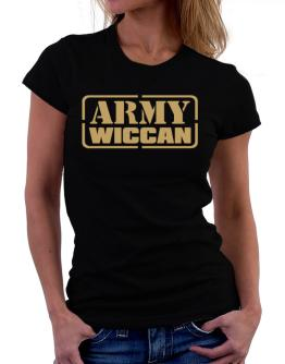 Army Wiccan Women T-Shirt