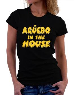 Agüero In The House Women T-Shirt