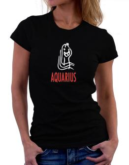 Aquarius - Cartoon Women T-Shirt
