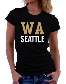 Seattle - Postal usa Women T-Shirt