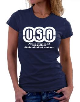 Usa Aboriginal Affairs Administrator Women T-Shirt
