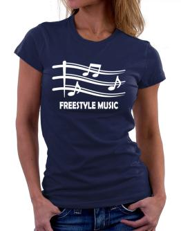Freestyle Music - Musical Notes Women T-Shirt