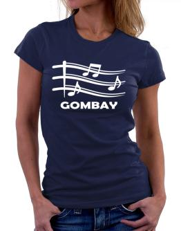 Gombay - Musical Notes Women T-Shirt