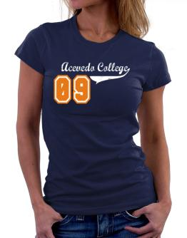 Acevedo College 09 Women T-Shirt