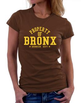 Property Of Bronx - Drunken Department Women T-Shirt