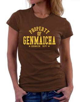 Property Of Genmaicha - Drunken Department Women T-Shirt