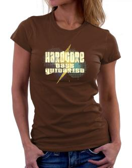 Hardcore Bass Guitarist Women T-Shirt