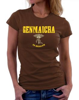 Genmaicha Is Health Women T-Shirt
