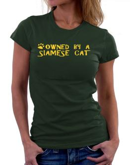Owned By A Siamese Women T-Shirt