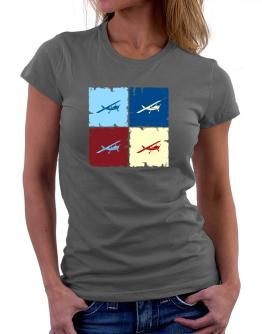 """ Aerobatics - Pop art "" Women T-Shirt"