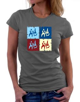 Aikido - Pop Art Women T-Shirt