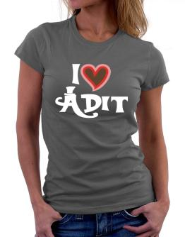 I Love Adit Women T-Shirt