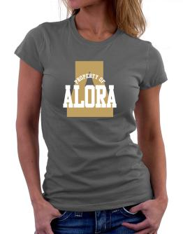 Property Of Alora Women T-Shirt