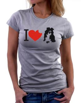I love Australian Shepherds Women T-Shirt