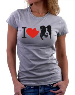 I love Border Collies Women T-Shirt