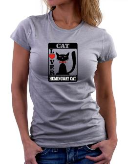 Cat Lover - Hemingway Cat Women T-Shirt