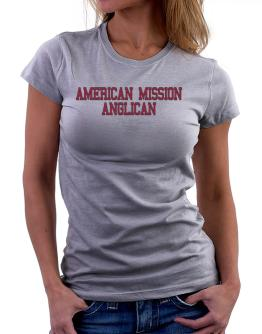 American Mission Anglican - Simple Athletic Women T-Shirt