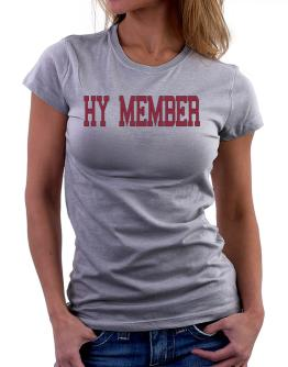 Hy Member - Simple Athletic Women T-Shirt