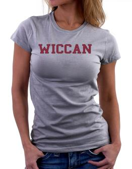 Wiccan - Simple Athletic Women T-Shirt