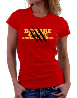 Beware Of The Andean Condor Women T-Shirt
