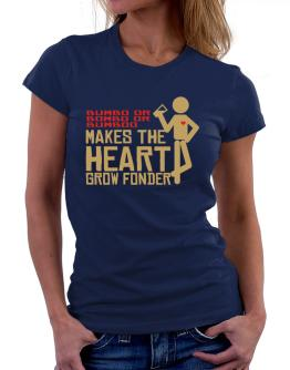 Bumbo Or Bombo Or Bumboo Makes The Heart Grow Fonder Women T-Shirt