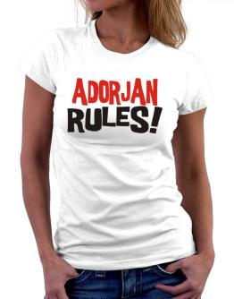 Adorjan Rules! Women T-Shirt