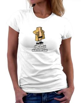 Naked Aboriginal Affairs Administrator Women T-Shirt