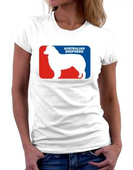 Australian Shepherd Sports Logo Women T-Shirt