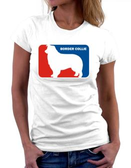 Border Collie Sports Logo Women T-Shirt