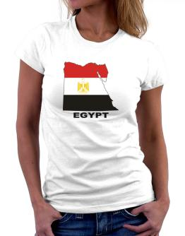 Egypt - Country Map Color Women T-Shirt