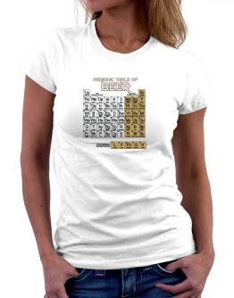 Periodic Table of Beer Women T-Shirt