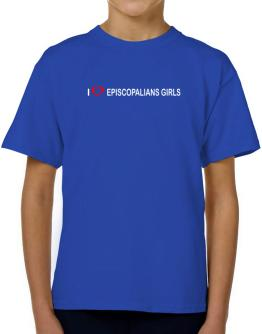 I love Episcopalians Girls T-Shirt Boys Youth