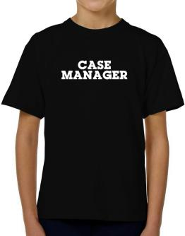 Case Manager T-Shirt Boys Youth