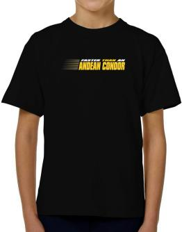 Faster Than An Andean Condor T-Shirt Boys Youth