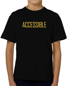 Accessible - Simple T-Shirt Boys Youth