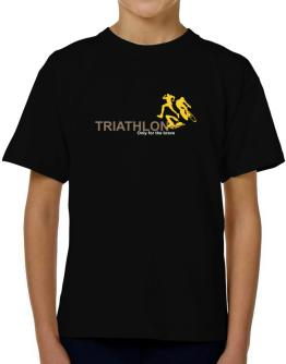 Triathlon - Only For The Brave T-Shirt Boys Youth