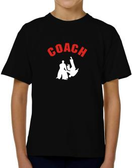 Aikido Coach T-Shirt Boys Youth