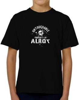 Untouchable : Property Of Alroy T-Shirt Boys Youth