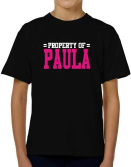 Property Of Paula T-Shirt Boys Youth