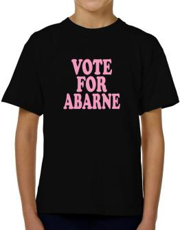 Vote For Abarne T-Shirt Boys Youth