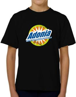 Adonia - With Improved Formula T-Shirt Boys Youth