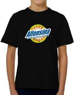 Alfonsina - With Improved Formula T-Shirt Boys Youth