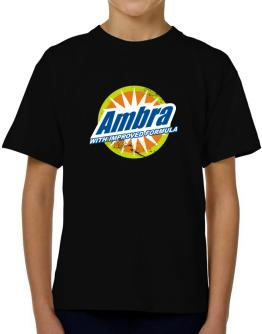 Ambra - With Improved Formula T-Shirt Boys Youth