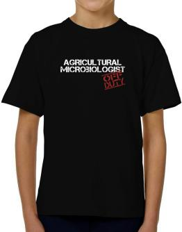 Agricultural Microbiologist - Off Duty T-Shirt Boys Youth