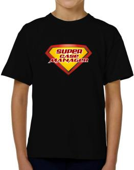 Super Case Manager T-Shirt Boys Youth