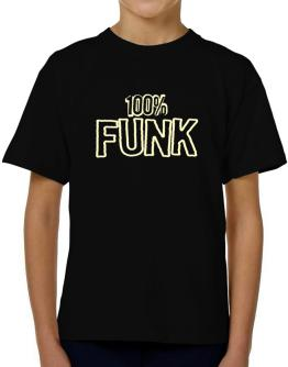 100% Funk T-Shirt Boys Youth