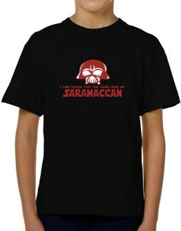 I Can Teach You The Dark Side Of Saramaccan T-Shirt Boys Youth