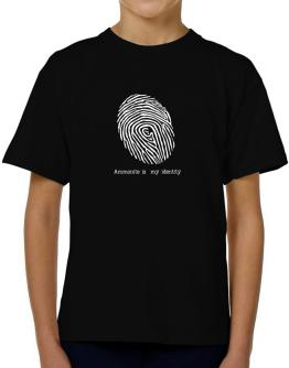 Ammonite Is My Identity T-Shirt Boys Youth