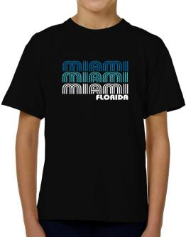 Miami State T-Shirt Boys Youth