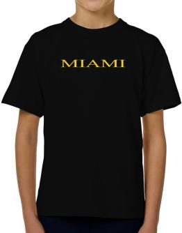 Miami T-Shirt Boys Youth